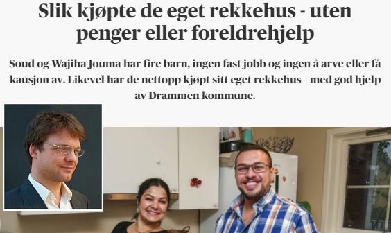 Gratis bolig: Gi til norske slitere først