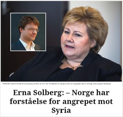 Bør Russland bombe Norge dersom noen bruker giftgass på norsk territorium?