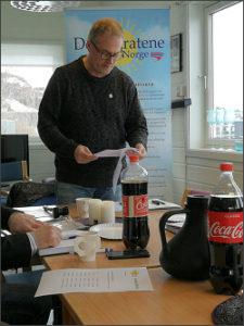 Styreleder Tor-Andre Hopen