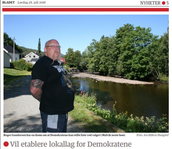 Faksimile: Stjørdalens Blad 28.07.2018