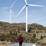 Vindkraftpark i Norge