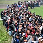 Illustrasjon: Fremmedkulturell innvandring til Europa og Norge