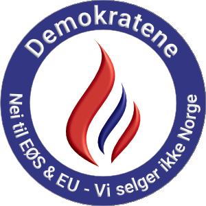 Demokratene setter Norge og nordmenn først i alt vi gjør politisk!